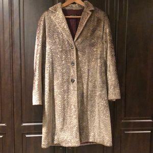 Lafayette 148 Teddy Bear Coat